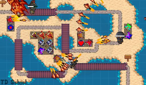 Tower Defense School: BTD Hero RPG PvP Online 1.121 screenshots 7