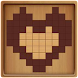 無料の新しい脳パズルゲーム2021:木製ブロック塗りつぶし - Androidアプリ