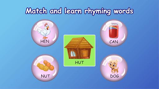 Kindergarten kids Learn Rhyming & Sight Word Games apkdebit screenshots 22