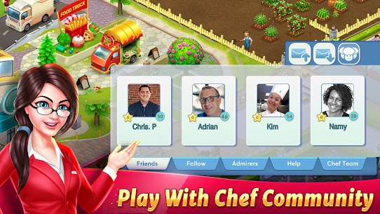 Tasty Cooking Cafe & Restaurant Game: Star Chef 2 6