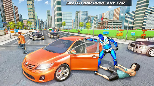 Police Robot Speed hero: Police Cop robot games 3D 5.2 Screenshots 3