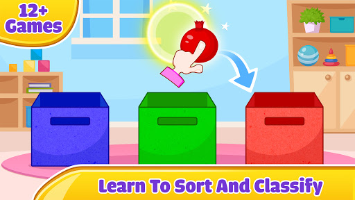 Kids Sorting Games - Learning For Kids screenshots 1