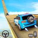 Police Prado Car Stunt Games