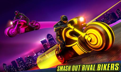 Light Bike Stunt Racing Game 18 Screenshots 5