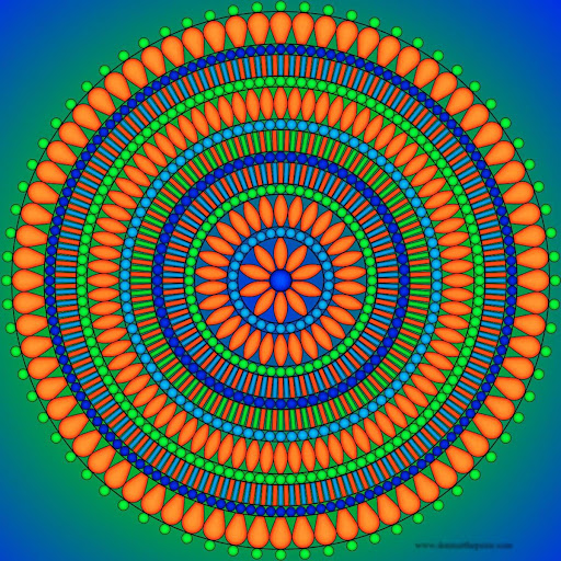 Mandala Coloring screenshots 2