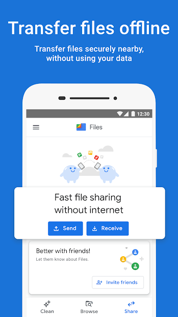Files by Google: Clean up space on your phone screenshot 3