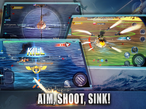 Warship Rising - 10 vs 10 Real-Time Esport Battle 5.7.2 screenshots 10
