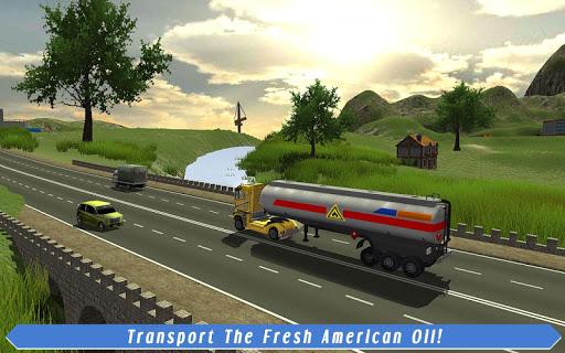 Cargo Truck Driver: American Transport  screenshots 11