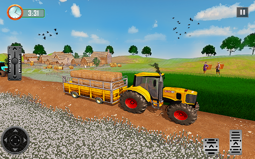 Farming Tractor Driver Simulator : Tractor Games android2mod screenshots 7