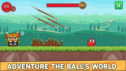 Bounce Ball 6: Red Bounce Ball Hero  screenshots 3