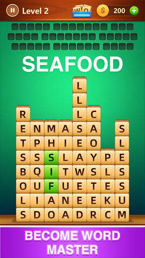 Word Fall - Brain training search word puzzle game android2mod screenshots 3