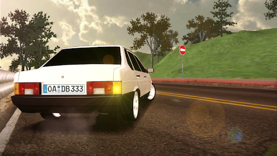 Russian Cars: 99 and 9 in City screenshots 1