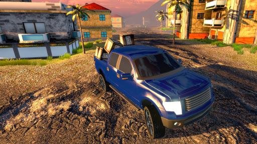 Off road Truck Simulator: Tropical Cargo android2mod screenshots 10
