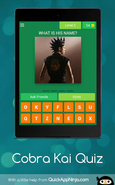 Captura de Pantalla 11 de Cobra Kai Quiz para android