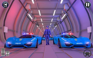 Police Cargo Truck Simulator: New Car Parking Game