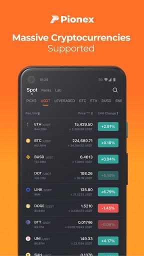 Pionex: Free Trading Bots for Bitcoin, Dogecoin  screenshots 1