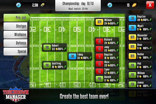 Touchdown Manager 7.21 de.gamequotes.net 3