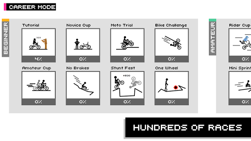 Draw Rider Free - Top Bike Stickman Racing Games  screenshots 2