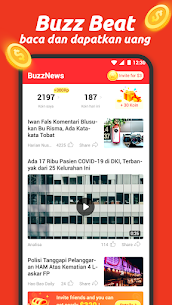 BuzzBeat – baca artikel, video & dapatkan bonus 1