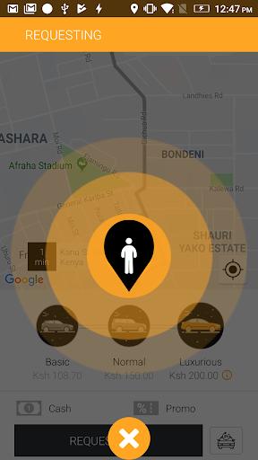 Wasili Rider App 2.0 Screenshots 4