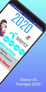 Telenor All Packages 2021 Call, Sms,Internet 2.9 APK screenshots 10