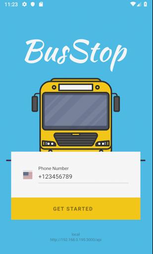busstop smart school bus alert screenshot 1