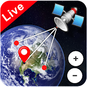 Live Earth Map View & World Satellite Navigation