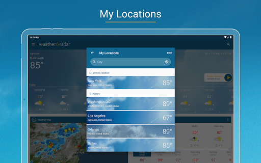 Weather & Radar USA - Severe weather alerts 2020.21.2 screenshots 8
