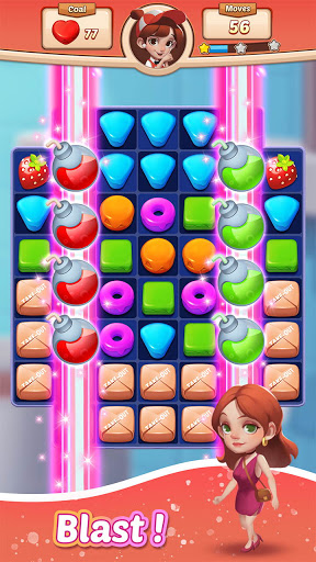Cooking Crush Legend - Free New Match 3 Puzzle screenshots 2