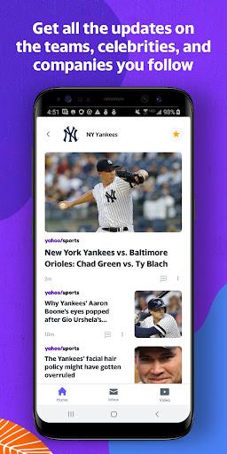 Yahoo - News, Mail, Sports Apkfinish screenshots 3