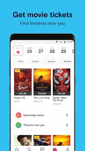 Paytm Insider: Movie Tickets, Events & Gameshows 4.5.5 Screenshots 3
