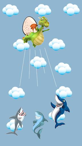 keep away, sharks! screenshot 2