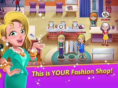 Fashion Salon Dash - Fashion Shop Simulator Game