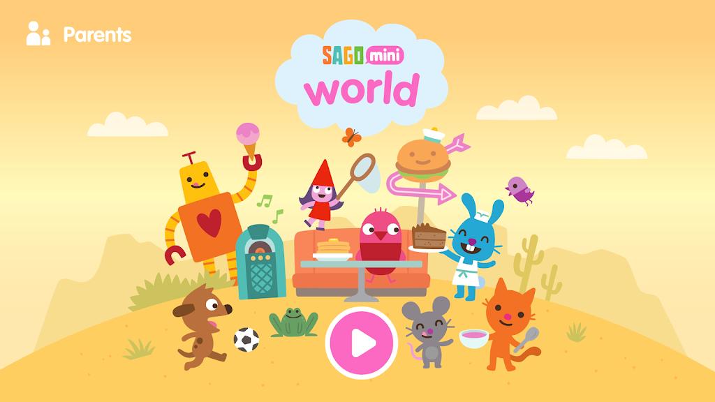 Sago Mini World: Kids Games  poster 1