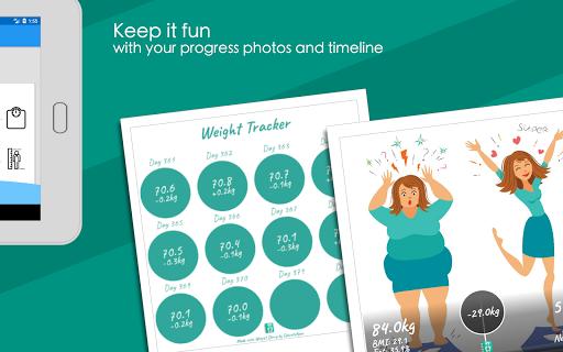 Weight Diary - Weight Loss Tracker, BMI, Body Fat 3.6.0.1 Screenshots 16