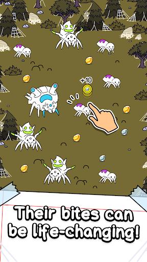 Spider Evolution - Merge & Create Mutant Bugs screenshots 2