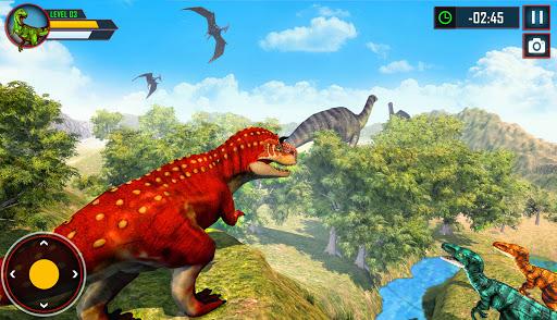 Wild Dino Family Simulator: Dinosaur Games android2mod screenshots 13