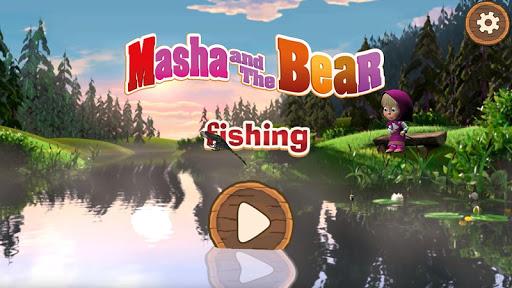 Masha and the Bear: Kids Fishing  screenshots 6