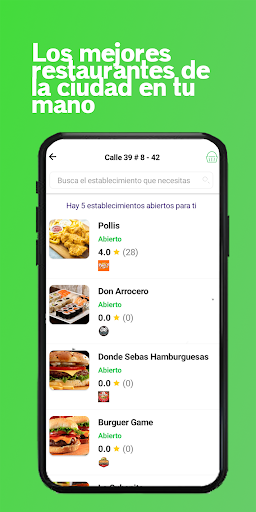 Wokhy - Comida a domicilio 1.5.3 screenshots 2