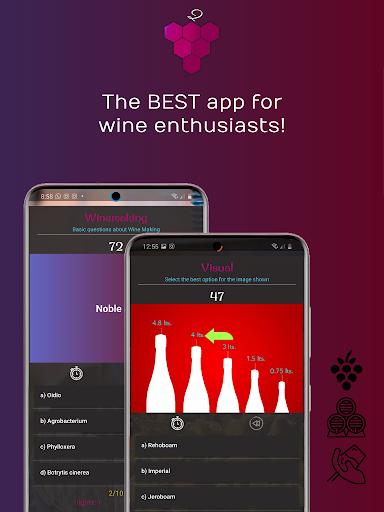 WineQ - Wine Trivia Game  screenshots 1