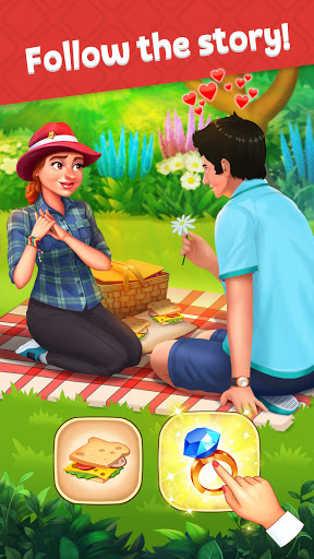ud83cudf81 New Gardenud83cudf84ud83cudf84 Match 3 Games ud83cudf89 Three in a row apkpoly screenshots 4