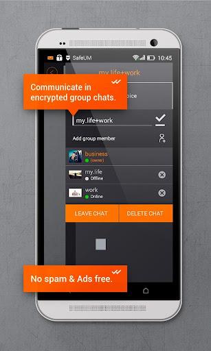 Secure messenger SafeUM 1.1.0.1548 Screenshots 6