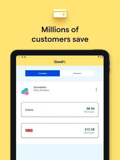 GoodRx: Prescription Drugs Discounts & Coupons App apktram screenshots 13