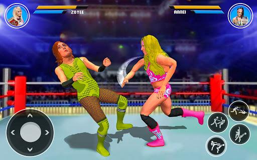 Superstar Girl Wrestling Ring Fight Mania 2019  Pc-softi 10