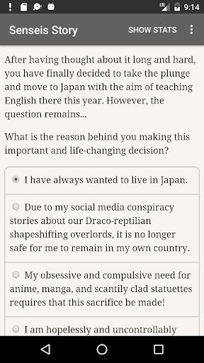 a sensei's story screenshot 2