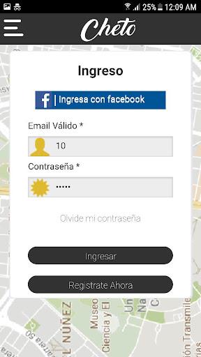 cheto app  Screenshots 2