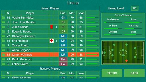 Code Triche Football Team Manager APK Mod screenshots 1