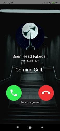 Fake Call From Siren Head - Scary Video Callのおすすめ画像3