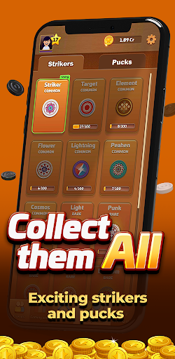 Carrom Gold : Multiplayer Friends Board Games King 2.30 screenshots 12