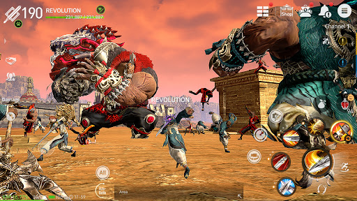 Blade&Soul: Revolution Varies with device screenshots 7